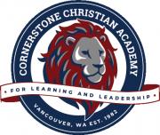 Cornerstone Christian Academy for Learning & Leadership Logo